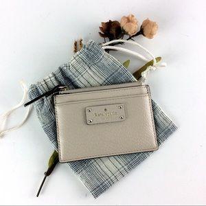 ✨Kate Spade ✨   Zippered Card Holder/Wallet 🌸
